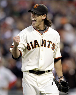 The San Francisco Giants' Tim Lincecum, a two-time Cy Young Award winner, has been one of the best bargains in baseball, earning $405,00 in 2008 and $650,00 last season. Lincecum was one of 128 players to file for salary arbitration.