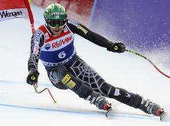 Bode Miller won the super-combined at the Lauberhorn in Wengen, Switzerland, marking the American's 32nd career World Cup triumph.