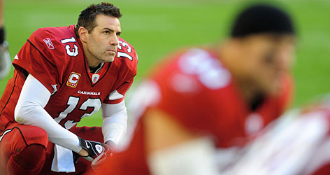 Kurt Warner hopes to take advantage of the Saints' 26th-ranked pass defense in Saturday's divisional playoff battle in New Orleans.