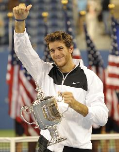Juan Martin Del Potro of Argentina broke through for his first Grand Slam title in September at the U.S. Open, and he will be among the favorites at the Australian Open.