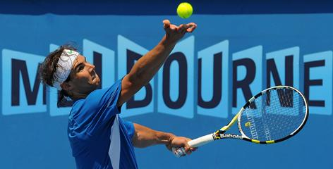 Defending Australian Open champion Rafael Nadal will be among the favorites again this year, but he has lots of company at the top.