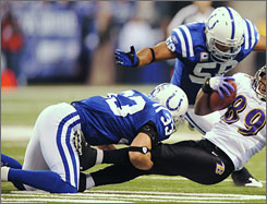 The Colts allowed just 3 points in a win against the Ravens in the divisional playoffs.