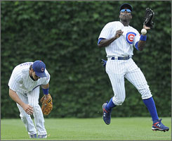 The Cubs need a rebound from former Texas Ranger Alfonso Soriano, right, whose knee injuries limited him to a .241 average and 177 games.