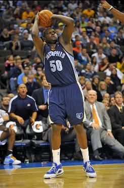 """Nine-year veteran Zach Randolph leads the Memphis Grizzlies in scoring (20.8 points) and rebounding (11.5). He is the unquestioned leader of the NBA's youngest team, which averages 24.3 years. """"These guys look up to me,"""" Randolph says. """"You just got to lead by example."""""""