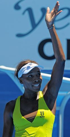 Venus Williams of the USA keeps on winning, and now she has moved into the quarterfinals.
