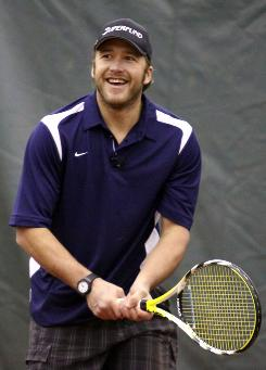 Olympic skier Bode Miller, who was a state high school champion in tennis, has signed on to try his luck in the U.S. Open National Playoff.