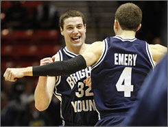 BYU junior Jimmer Fredette is averaging 20.2 points for the Cougars, who are ranked 10th in the latest USA TODAY/ESPN Coaches' Poll.