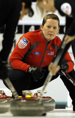 U.S. curling team skip Debbie McCormick  and her four teammates scheduled nine competitions since September in preparation for the Olympics.
