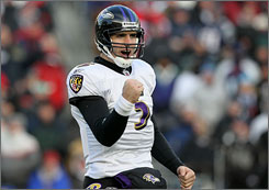 Joe Flacco has led the Ravens to a playoff berth in both of his seasons in Baltimore.