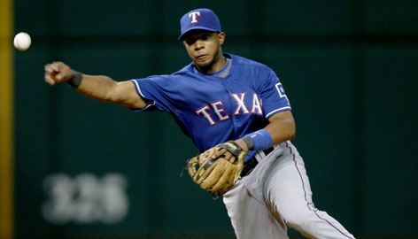 Elvis Andrus, 2, displayed superb ability in the field and did better than expected at the plate in his rookie season with the Rangers in 2009.