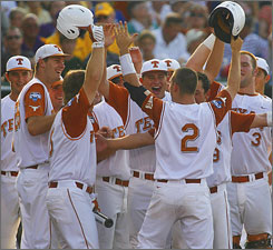 Texas finished second last season but will start 2010 at the top spot in USA TODAY/ESPN Top 25 baseball poll.