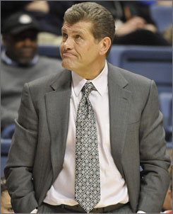 Using eBay, Connecticut coach Geno Auriemma will allow the public to bid on ties he wears during the remainder of the Huskies' games this season.