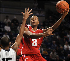 Badgers senior guard Trevon Hughes is averaging 16 points and 5 rebounds a game for his 16th-ranked squad.