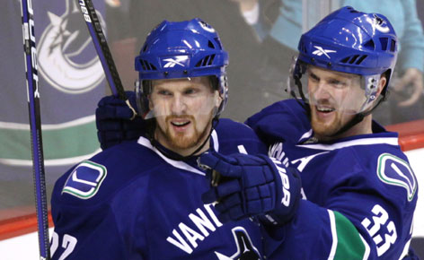 DETOIT RED WINGS Sedin-twins