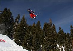 Tom Wallisch says slopestyle courses help bring more young skiers into the sport.