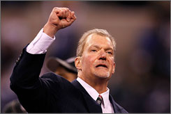 Jim Irsay is looking for the Colts' second Super Bowl titles in the past four years.