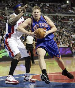David Lee has posted 28 double-doubles and is averaging a career-high 19.7 points a game for the Knicks this season, but he won't be heading to the All-Star Game.