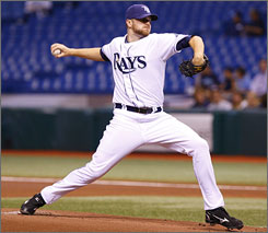 Wade Davis was 2-2 with a 3.72 ERA in six starts for the Rays in 2009.