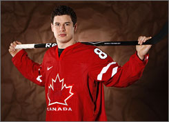 Sidney Crosby leads a Canada team aiming to win the gold medal on its home soil.