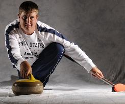 John Shuster is the skip of the U.S. men's curling team that hopes to follow the 2006 team and medal in Vancouver.