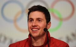 Alex Bilodeau won Canada's first gold won on Canadian soil and has had a non-stop schedule since becoming a hero to the country.