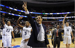 Jay Wright and his Villanova squad lead the way in the Big East, the nation's best conference according to Dick Vitale.