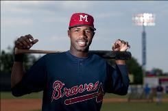 Jason Heyward, who hit .323 among three minor league teams in 2009, hopes to crack the Braves' lineup this season.