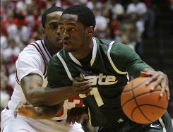 Big Ten Player of the Year candidate Kalin Lucas and the Michigan State Spartans host the Ohio State Buckeyes in another huge conference clash on Sunday.