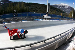 Safety of the Whistler sliding center has been in the spotlight since the death of Nodar Kumaritashvili last Friday.