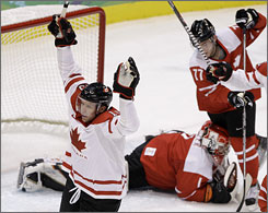 Canada needs Dan Heatley to keep up his scoring pace in order to beat the USA Sunday.
