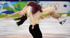 The USA's Meryl Davis and Charlie White skate their free dance program Monday at Pacific Coliseum in Vancouver. The American pair earned a silver medal.