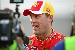 NASCAR driver Kevin Harvick is 19 points ahead of teammate Clint Bowyer in the Sprint Cup Series.