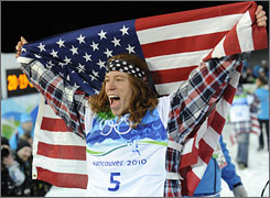 Snowboard gold medalist Shaun White appears poised to add to his lucrative list of endorsements.