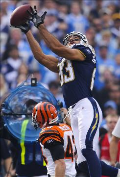 Chargers wide receiver Vincent Jackson could have been an unrestricted free agent this offseason but the NFL's uncapped-year rules mean he'll have to wait until after next season.