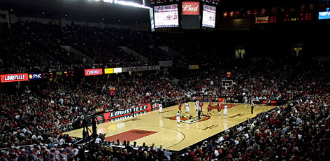 Louisville will play its final game at Freedom Hall this weekend when the Cardinals meet No. 1 Syracuse.