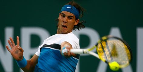 Rafael Nadal of Spain, the defending champion at the BNP Paribas Open in Indian Wells, Calif., returns to the tour after almost six weeks out of action because of a knee injury.