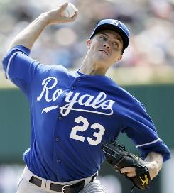 Pitcher Zack Greinke, the AL Cy Young Award winner last season, was 2 when the Royals last made the postseason, in 1985.