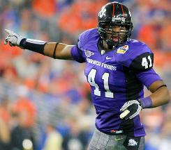 TCU's Daryl Washington could be a first-round pick in April's NFL draft.
