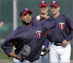 The Twins are hoping Francisco Liriano, who went 5-13 with a 5.80 ERA last season, can return to his All-Star form of 2006, when he was 12-3 with a 2.16 ERA.