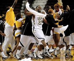 George Davis and Arkansas-Pine Bluff, celebrating after a SWAC tournament game win on Friday, clinched their first NCAA tournament bid when they defeated Texas Southern on Saturday.