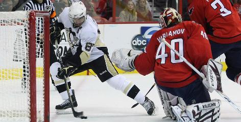 The 2009 Capitals-Penguins series featured three overtime games and hat tricks by Alex Ovechkin and Sidney Crosby in Game 2. But it ended anticlimactically with a 6-2 Penguins win in Game 7.