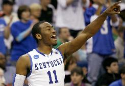 In his impressive freshman season, John Wall became Kentucky's go-to scoring option in crunchtime, in addition to becoming known for highlight reel plays.
