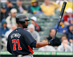 Jason Heyward hit a combined .323 with 17 homers last season.