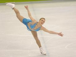 Canada's Joannie Rochette, above skating in the women's free program in Vancouver, will return to the ice this week in the Smucker's Stars on Ice tour.