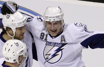 Lightning's Steven Stamkos Striking At An Impressive Rate