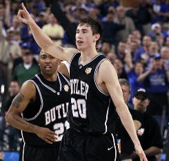 Butler's Gordon Hayward could again lead the Bulldogs to the Final Four if he decides against entering the NBA draft.