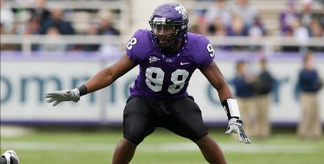 TCU linebacker Jerry Hughes is only the second two-time consensus All-American in TCU's history. In 2009 he won the Lott Trophy and the Ted Hendricks Award after collecting 16 tackles for loss, including 11 sacks.