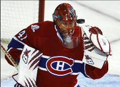 The top-seeded Capitals did not face Canadiens goalie Jaroslav Halak during the 2009-10 season. Halak took over No. 8 seed Montreal's starting job from Carey Price late in the seaon.