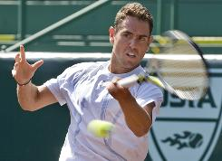 Wayne Odesnik played last week in the U.S. Men's Clay Court Championships in Houston, even though he pleaded guilty last month to importing HGH into Australia.