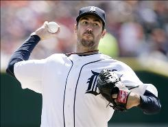 Justin Verlander's slow start with the Detroit Tigers could be an anomaly or a result of a heavy workload.